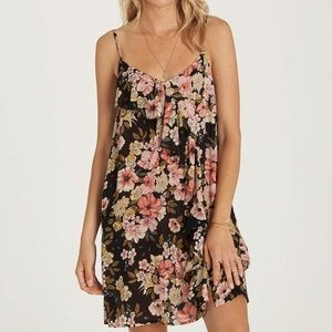 Floral sundress with ruffle